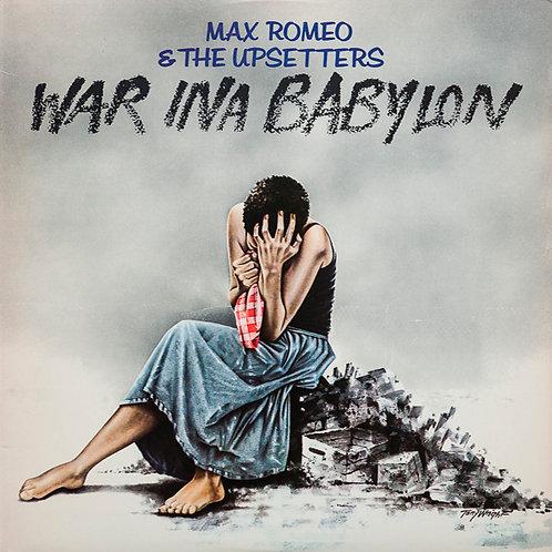 MAX ROMEO & THE UPSETTERS LP War Ina Babylon
