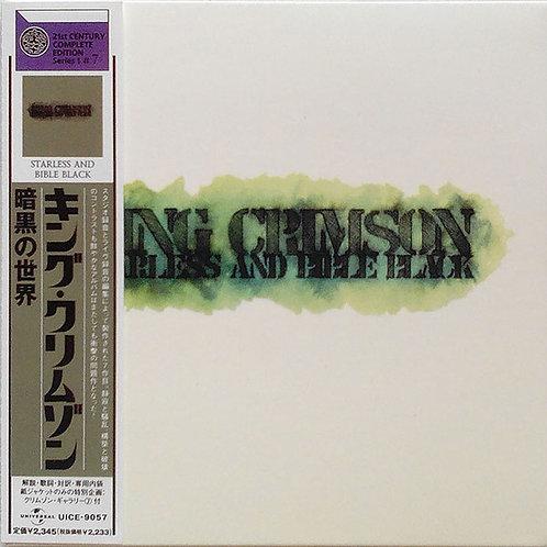 KING CRIMSON CD Starless And Bible Black (Japan Mini Lp)