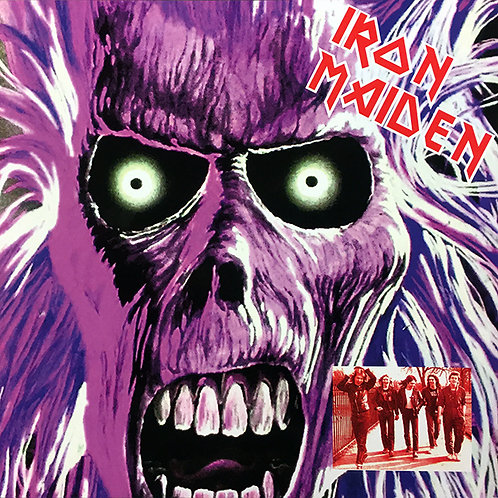 IRON MAIDEN LP ALBUM DEMO (Violet Picture Disc Limited Numbered Edition)
