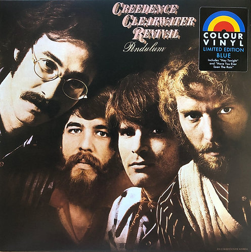 CREEDENCE CLEARWATER REVIVAL LP Pendulum (Blue Coloured Limited Edition Vinyl)