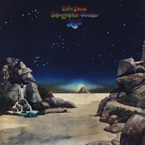 YES 2xCD Tales From Topographic Oceans (Mini Lp Replica Gatefold Cover)