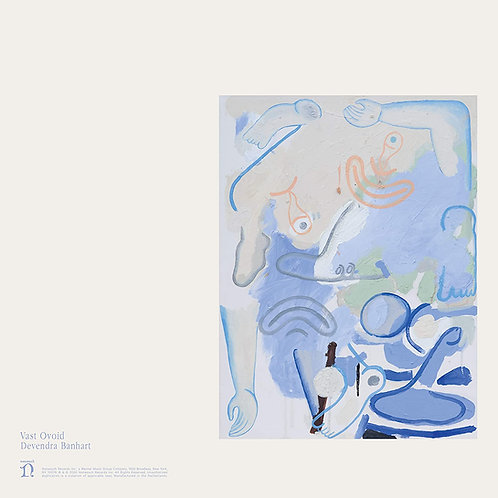 """DEVENDRA BANHART 12"""" EP Vast Ovoid (White Coloured Vinyl)"""