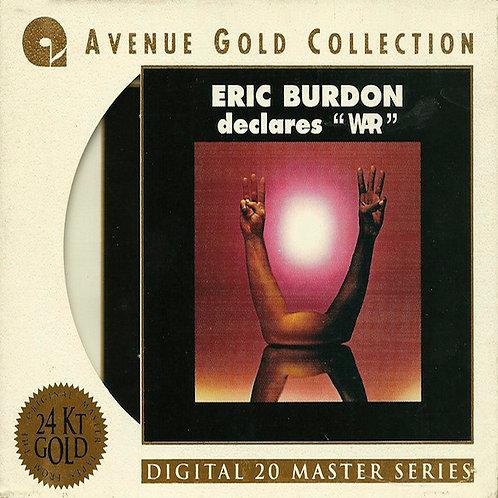 "ERIC BURDON & WAR CD Eric Burdon Declares ""War"""