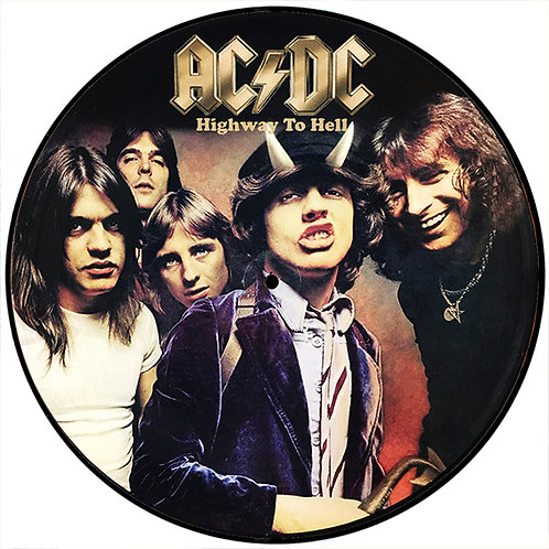 AC/DC LP Highway To Hell (Picture Disc)