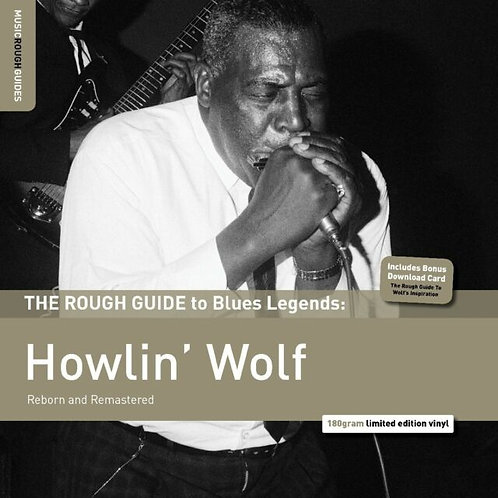 HOWLIN' WOLF LP The Rough Guide to Blues Legends: Howlin' Wolf