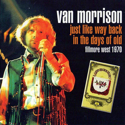 VAN MORRISON CD Just Like Way Back In The Days