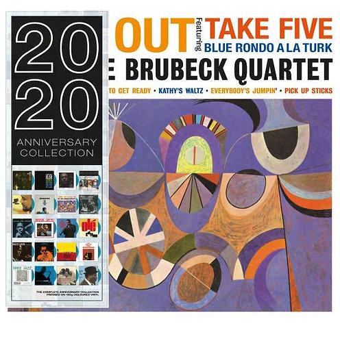 DAVE BRUBECK QUARTET LP Time Out (Blue Coloured Vinyl)