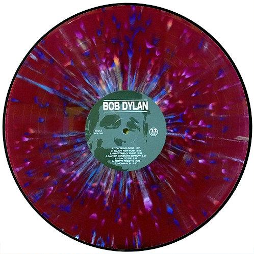 BOB DYLAN LP First Album (Purple Splatter Coloured Vinyl)