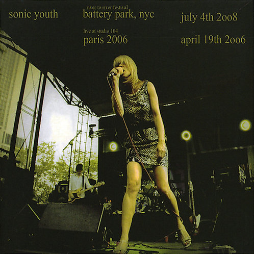 SONIC YOUTH 2xCD Battery Park, NYC 2008 & Paris 2006 (Digipack)