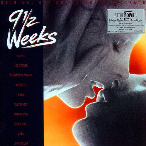VARIOS LP 9½ Weeks - Original Motion Picture Soundtrack (Red Vinyl)