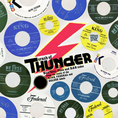 VARIOUS CD Crash of Thunder: King Funk - Rare Funk and Soul from the King Labels