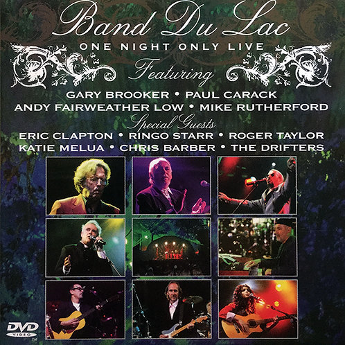 BAND DU LAC DVD One Night Only (Digipack))