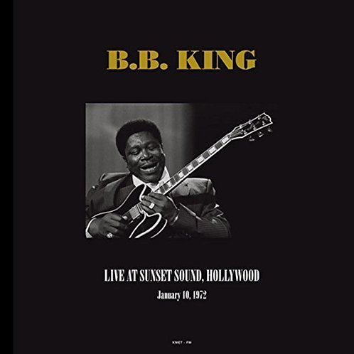 B.B. KING 2xLP Live At Sunset Sound - Hollywood January, 10th 1972