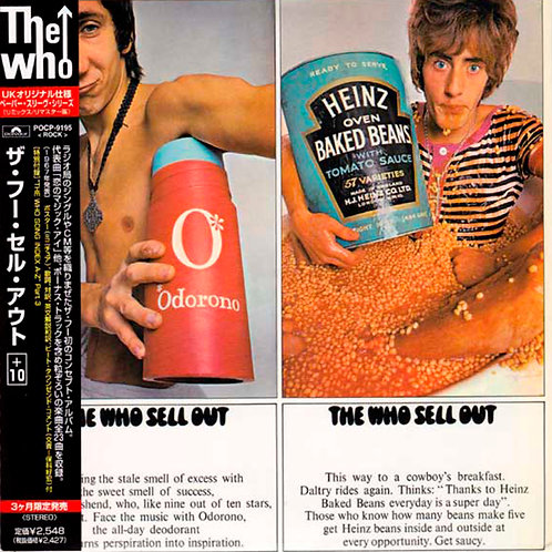 THE WHO CD Sell Out + 10 Bonus Tracks (Japan)