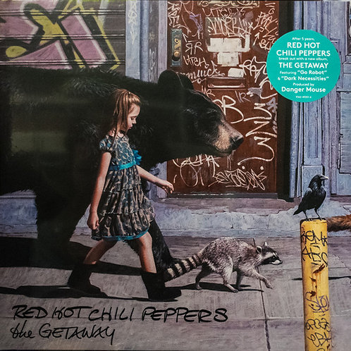 RED HOT CHILI PEPPERS 2xLP The Getaway
