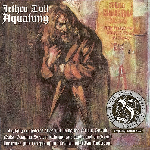 JETHRO TULL CD Aqualung (25th Anniversary Special Edition)