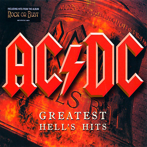 AC/DC 2xCD Greatest Hell's Hits