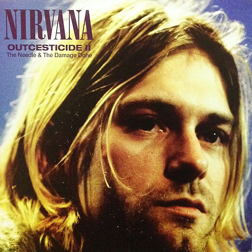NIRVANA LP Outcesticide II - The Needle & The Damage Done (Clear Coloured Vinyl)