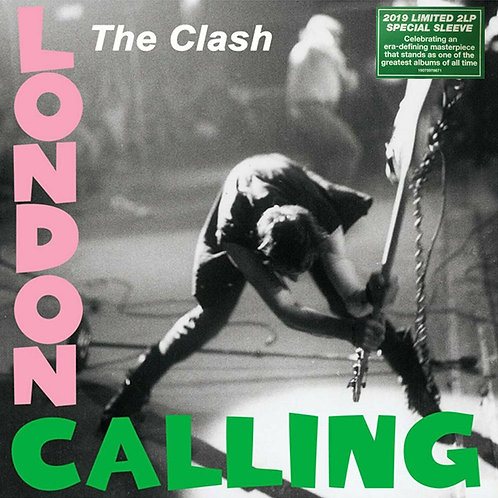THE CLASH 2xLP London Calling (Special Sleeve)