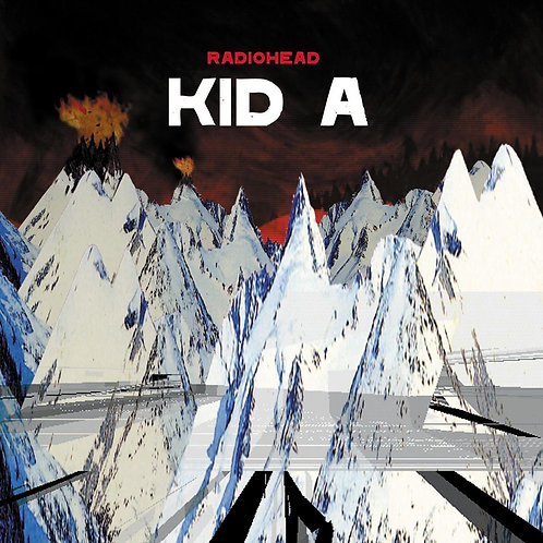 RADIOHEAD 2XLP Kid A