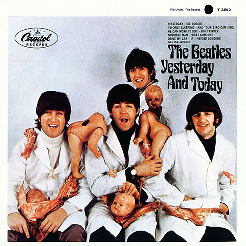 BEATLES LP Yesterday And Today (Purple Coloured Vinyl)