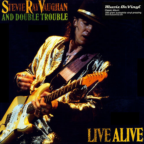 STEVIE RAY VAUGHAN AND DOUBLE TROUBLE 2xLP Live Alive (Music On Vinyl)