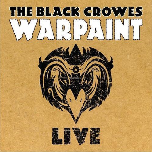 THE BLACK CROWES 2xCD Warpaint Live