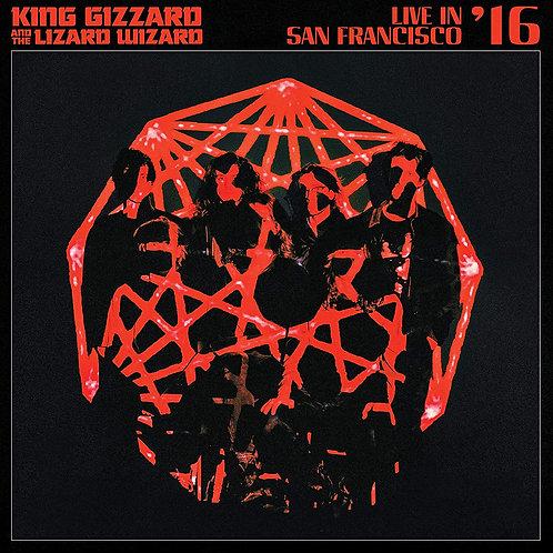 KING GIZZARD AND THE LIZARD WIZARD 2xLP Live In San Francisco '16 Coloured Vinyl