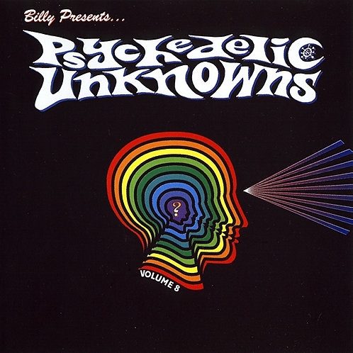 VARIOS LP Psychedelic Unknowns Volume 8