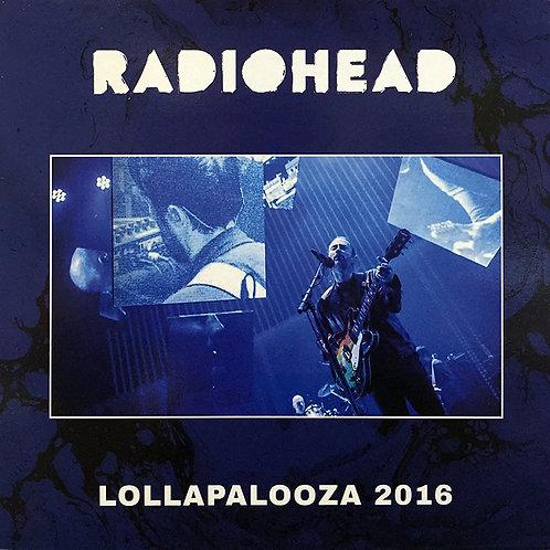 RADIOHEAD LP Lollapalooza 2016