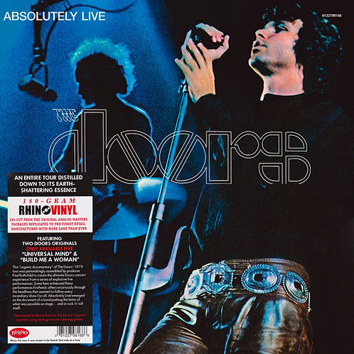 THE DOORS 2xLP Absolutely Live