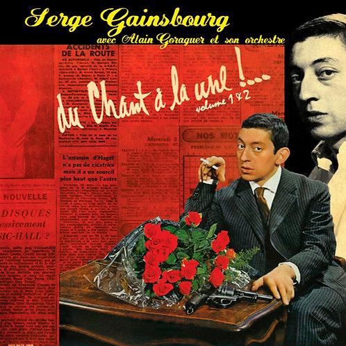 SERGE GAINSBOURG LP Du Chant À La Une !... (Volume 1 & 2)