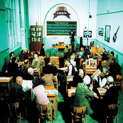 OASIS 2xLP The Masterplan