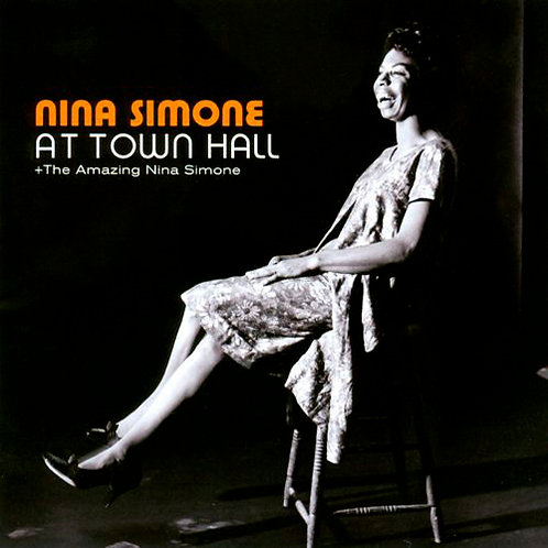 NINA SIMONE CD Nina Simone At Town Hall + The Amazing Nina Simone