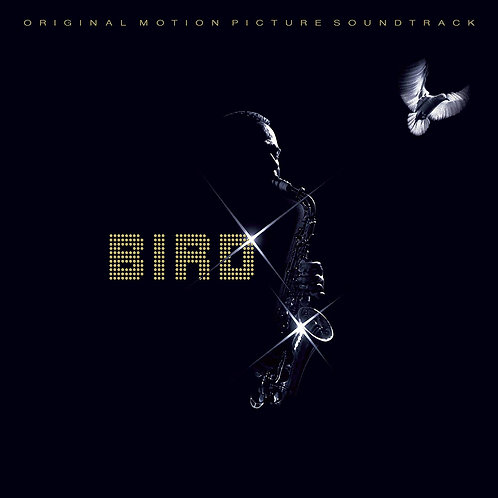 CHARLIE PARKER LP Bird (Original Soundtrack •Blue Coloured Vinyl)