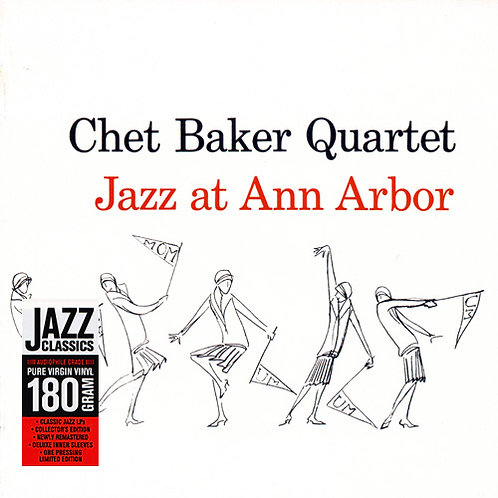 CHET BAKER QUARTET LP Jazz At Ann Arbor (180 Gram Audiophile Vinyl)