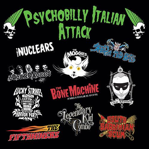 VARIOS LP Psychobilly Italian Attack