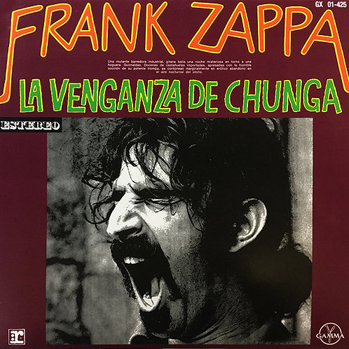 FRANK ZAPPA LP La Venganza De Chunga