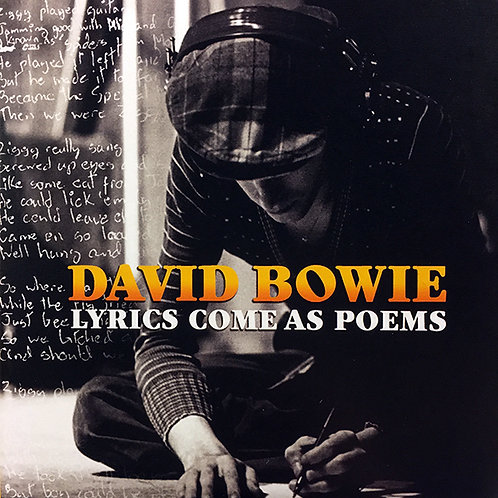 DAVID BOWIE 2xCD Lyrics Come As Poems