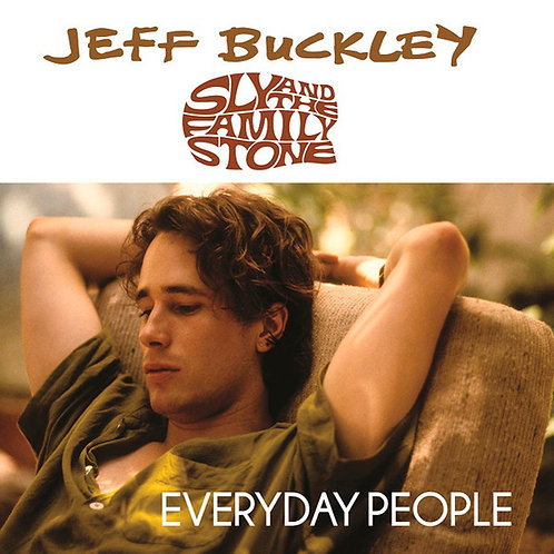 """JEFF BUCKLEY / SLY & THE FAMILY STONE 7"""" Everyday People (Black Friday 2015)"""