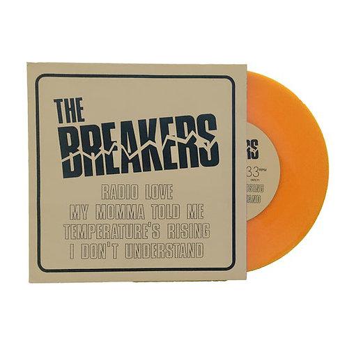 """THE BREAKERS 7"""" EP Radio Love (Orange Coloured Vinyl)"""