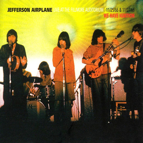 JEFFERSON AIRPLANE 2xCD Live At The Fillmore Auditorium 11/25/66 & 11/27/66