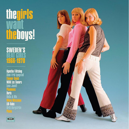 VARIOS LP The Girls Want The Boys! Sweden's Beat Girls 1966-1970 (White Colour)