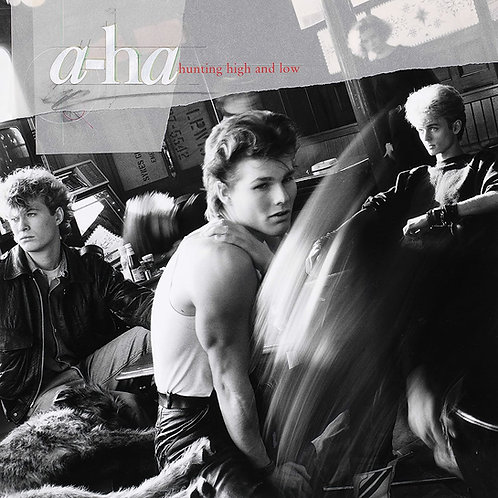 A-HA LP Hunting High And Low