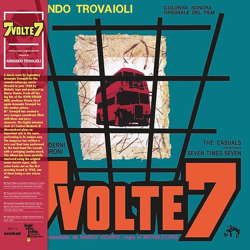 ARMANDO TROVAJOLI LP 7 Volte 7 (Colonna Sonora Originale Del Film)
