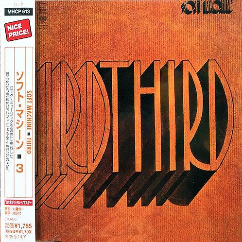 SOFT MACHINE CD Third (Japan)