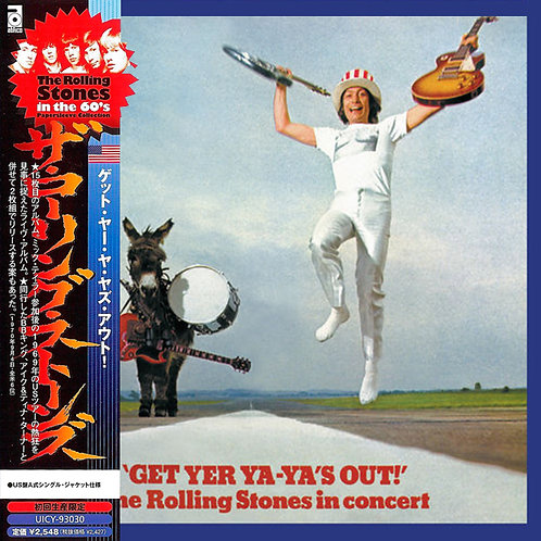 ROLLING STONES CD Get Yer Ya-Ya's Out (Japan)
