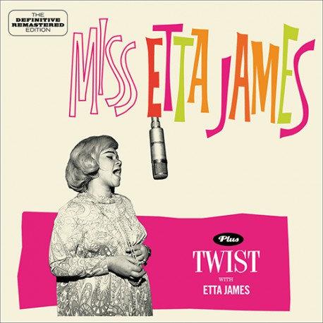 ETTA JAMES CD Miss Etta James + Twist With Etta James