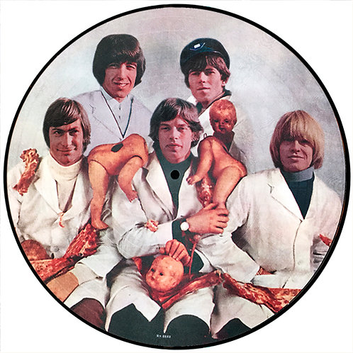 ROLLING STONES LP Yesterday (Beatles Butcher Cover Parody Picture Disc)