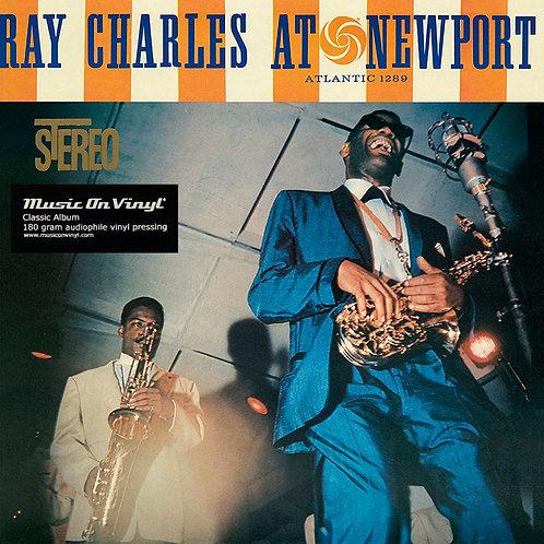 RAY CHARLES LP At Newport (Music On Vinyl)